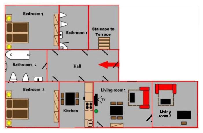 appartement mit dem ausblick auf prager burg your. Black Bedroom Furniture Sets. Home Design Ideas