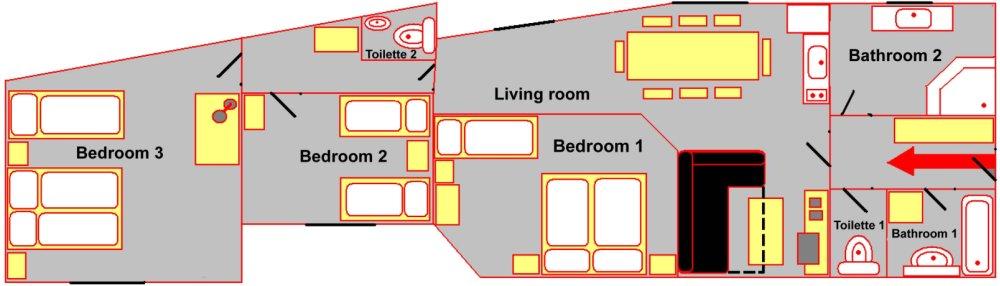 grosses appartement wenzelsplatz your. Black Bedroom Furniture Sets. Home Design Ideas