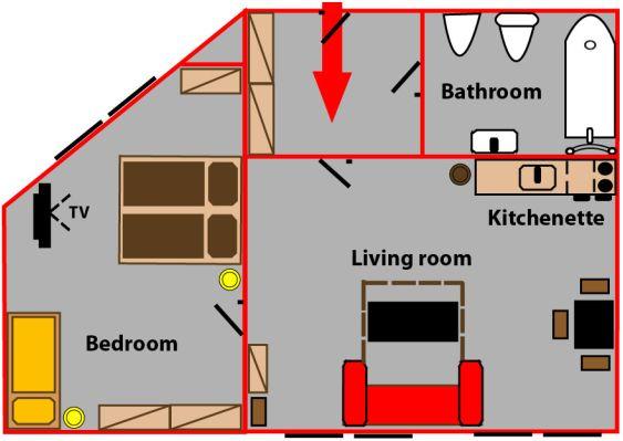 appartement legerova prag your. Black Bedroom Furniture Sets. Home Design Ideas