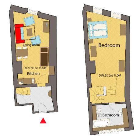 maisonettes appartement zentrum prag your. Black Bedroom Furniture Sets. Home Design Ideas