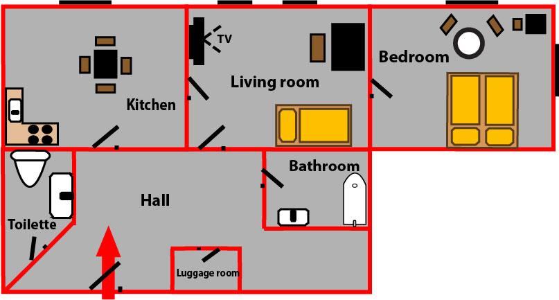 angenehme unterkunft in prag vinohrady your. Black Bedroom Furniture Sets. Home Design Ideas