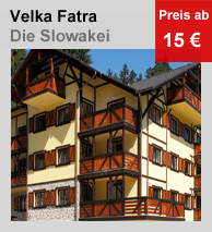 Appartements in Velka Fatra