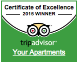 Tripadvisor Certificate of Excellence Winner 2015